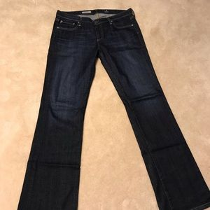"""AG Adriano Goldschmied """"The Angel"""" boot cut 32R"""